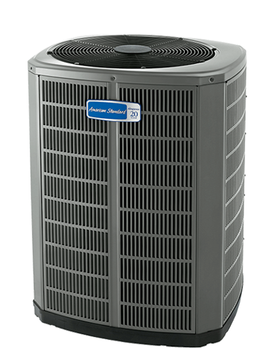 American Standard High Efficiency Heat Pumps.